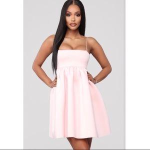 Fashion Nova No More Tears For You Mini Dress Pink